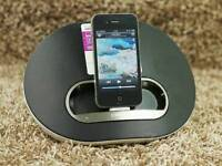 Ipod dock very loud
