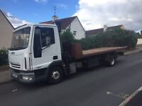 2005 iveco Hiab tiltslide spec recovery truck