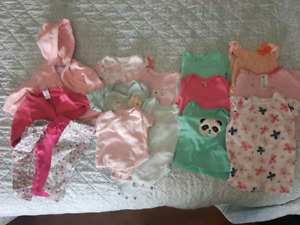 Size 3 month girls clothing