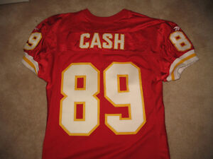 Kansas City Chiefs Game Worn Jerseys NFL