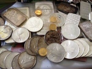 Cash for your old Coin Collections Coin Sets and Bullion