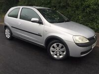 VAUXHALL CORSA SXI - LONG MOT - 1.2L - AMAZING SERVICE HISTORY WITH RECEIPTS