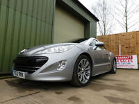2012 PEUGEOT RCZ 2.0HDi ( 163bhp ) GT COUPE SPORTS ONE OWNER FSH