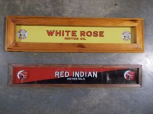 CADRE RED INDIAN / WHITE ROSE