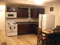10 minutes to University. Quiet and private 1 Bdrm