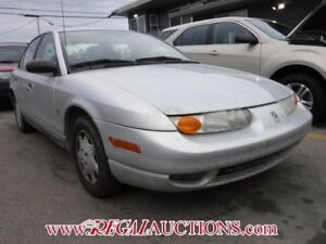 2002 SATURN S-SERIES SL1 4D SEDAN SL1
