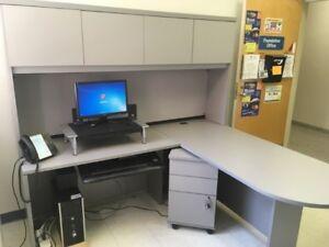 Large Grey Desk - Excellent Condition