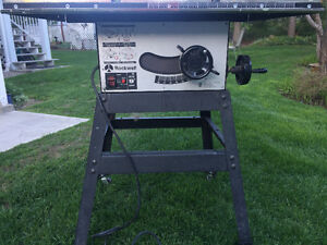 Rockwell Table Saw for sale
