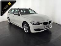 WHITE 2013 BMW 320D SE TOURING AUTO DIESEL 1 OWNER SERVICE HISTORY FINANCE PX