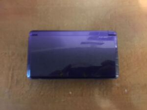Midnight purple 3ds and 24 games