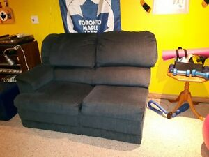 3 Piece Sectional Couch -Used -Perfect for Rec.Room or Mancave Cambridge Kitchener Area image 2