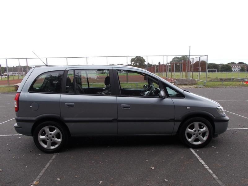 2004 MY ACTIVE Vauxhall/Opel Zafira 1.6i 16v