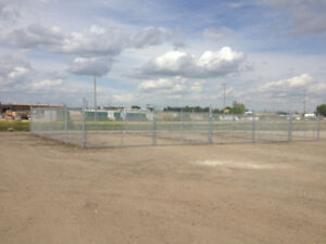 2 SIZES - Fenced Compound Storage     $225/mo