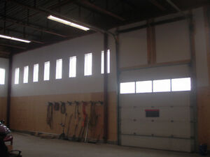 building with compound for lease
