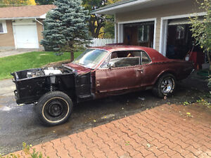 1967 Cougar XR7 Project - Fuel injected 5.0
