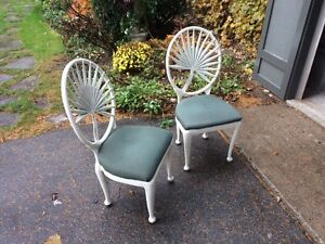 Two Steel Chairs London Ontario image 1