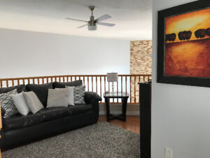 Furnished second floor in desirable area for rent