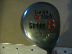 Used Men's RH Taylor Made 3 Wood Kawartha Lakes Peterborough Area image 2