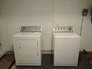 Four years Whirlpool washer and dryer