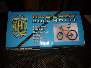 Bicycle Hoist - RAD - Fits all bikes - New in Box!