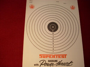 1960's Supertest target practise card Peterborough Peterborough Area image 3