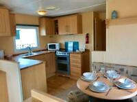 Cheap Static caravan for sale Cornwall nr Newquay double glazed heated NOT DEVON