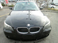 2005 BMW 525,extra clean,sport seats,fully loaded,good tires