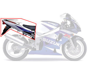 Wanted: Tail section parts for 2001 - 2003 GSX-R 600