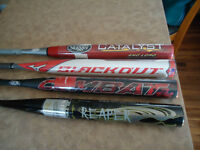New Slowpitch Bats