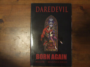 Daredevil Born Again - graphic novel