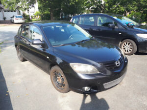 2005 Mazda 3, 5 speed manual