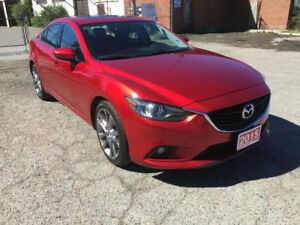 2015 MAZDA6 - LEATHER, NAVI, B-TOOTH, PUSH START