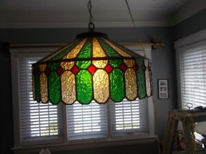 Beautiful Stained glass ceiling fixture
