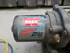 Warn 2500lb ATV winch