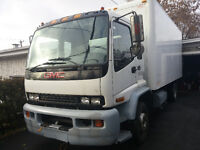 Camion GMC 2000 T5500 tail gate