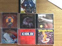 "Various ""metal"" CDs"