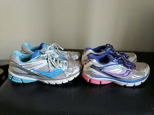 Size 8 women's Saucony running shoes Kitchener / Waterloo Kitchener Area image 1