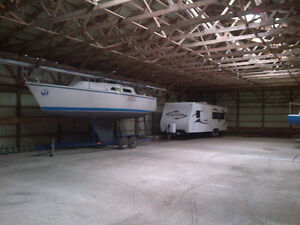 Indoor Storage for cars, boats , trailers and RV's