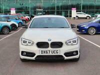 2017 BMW 1 Series 118d Sport 5dr [Nav] Hatchback Diesel Manual
