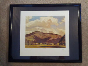 "A.J. Casson ""Eagles Nest"" Lithograph - Appraised at $600 London Ontario image 5"