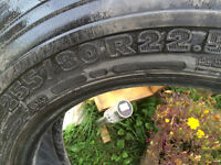 Michelin tire from a motorhome