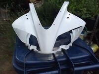 Yzf r125 nosecone/cowling fairing unpainted