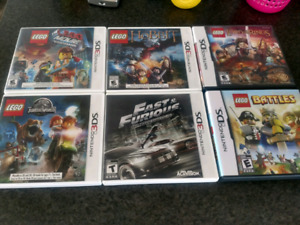 Nintendo DS and 3DS games