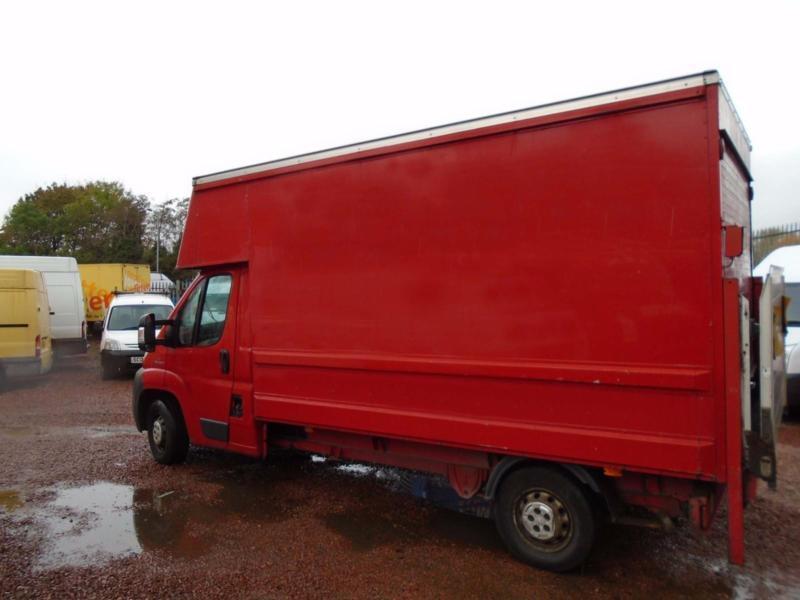Peugeot Boxer 2.2HDi ( 120 ) 335 LWB Luton Box Van With Tail Lift