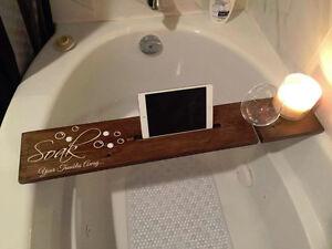 Handmade Bathtub Caddie