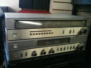 """Matching SANYO am/fm TUNER & Integrated Amplifier... """"VINTAGE"""" London Ontario image 1"""