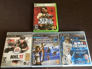 3-PS3 Games &1-Xbox 360 Game