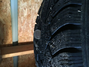 Vw rims and winter studded tires Prince George British Columbia image 3