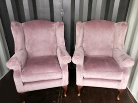 X2 Laura ashley denbigh armchairs like new