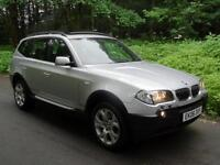 2006 BMW X3 3.0d (218 bhp) auto Sport 4X4..PANORAMIC GLASS ROOF..HIGH SPEC !!